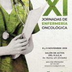 Cartel y tríptico XI jornadas de enfermeríaoncológica